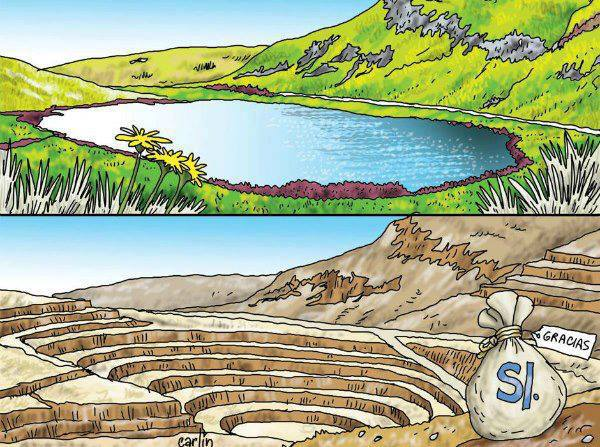 Permaculture v.s Open air mining